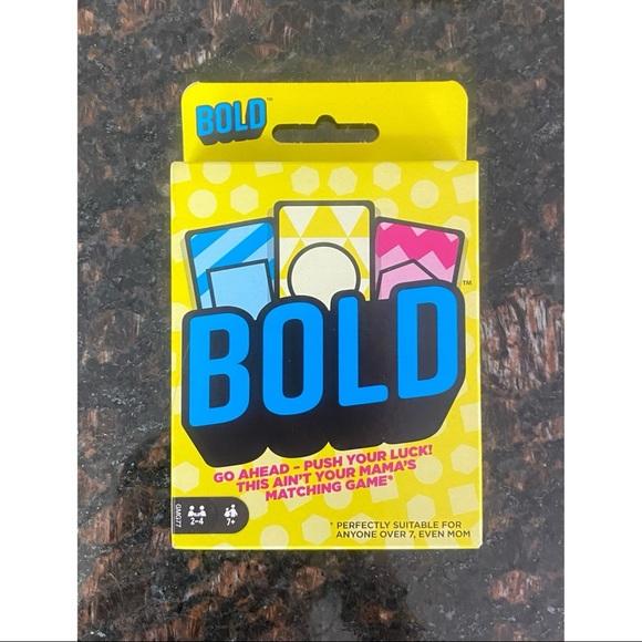 Bold Card Game